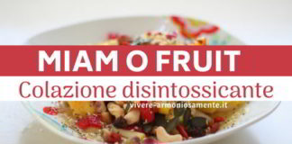 miam o fruit ricetta