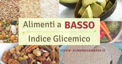 I Migliori Alimenti a Basso Indice Glicemico