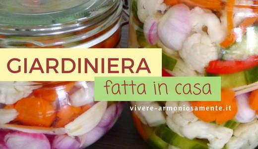 giardiniera-in-agrodolce-ricetta
