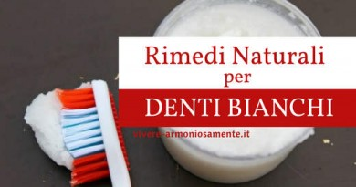 8 Rimedi Naturali per Sbiancare i Denti Gialli