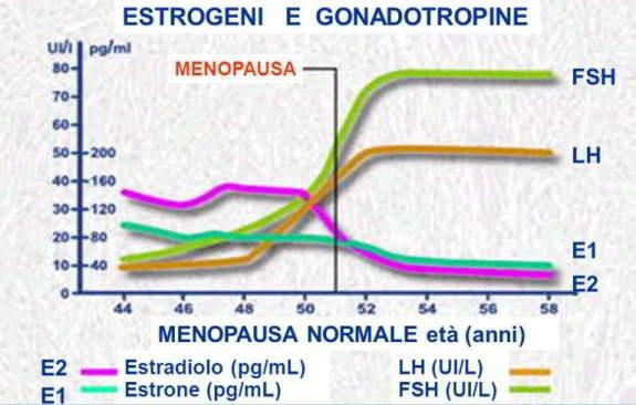 menopausa ormoni