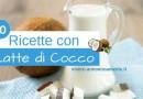 Ricette con Latte di Cocco: 10 Idee Dolci e Golose