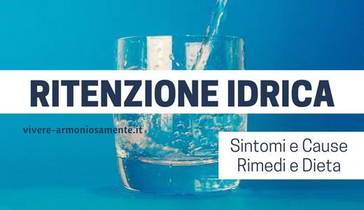 ritenzione-idrica-sintomi-cause-rimedi