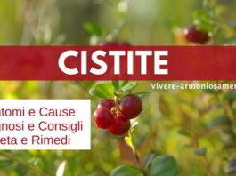cistite sintomi cause rimedi