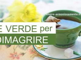 tè verde per dimagrire