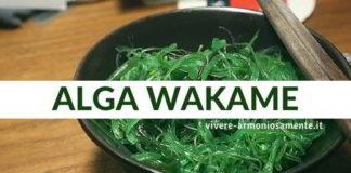 alga wakame proprietà