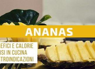 ananas proprietà calorie