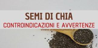 controindicazioni dei semi di chia