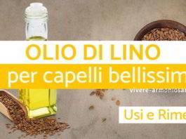 olio di lino per capelli