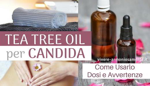 tea tree oil per candida