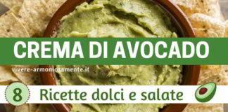 crema di avocado ricette