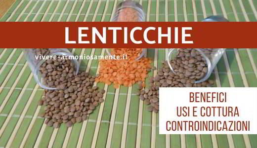 lenticchie proprietà