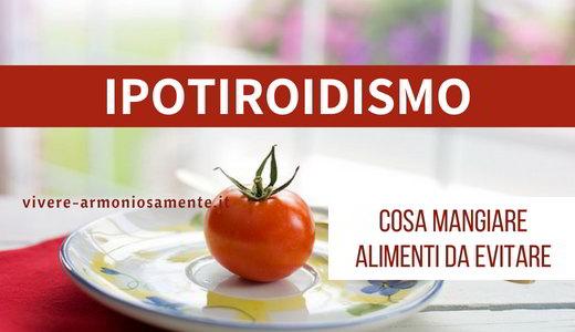 dieta per ipotiroidismo