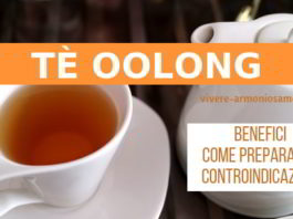 tè oolong proprietà