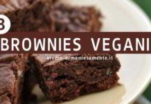 brownies vegani ricette