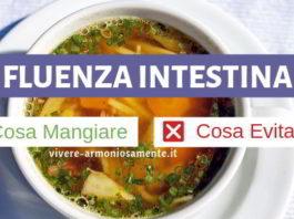 influenza intestinale cosa mangiare
